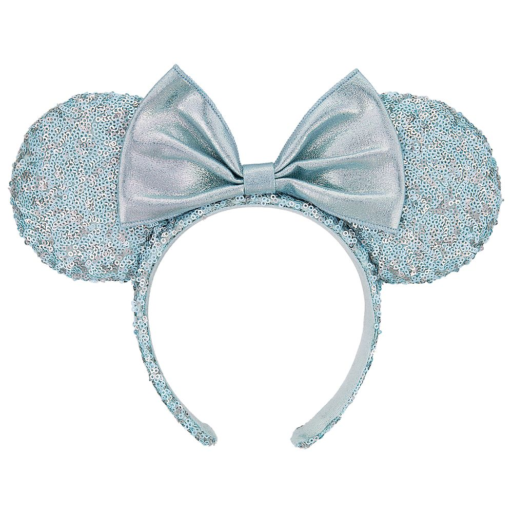 Minnie Mouse Sequined Ear Headband for Adults – Arendelle Aqua