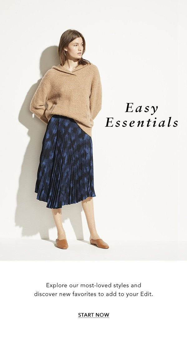 Easy Essentials. Explore our most-loved styles and discover new favorites to add to your Edit.