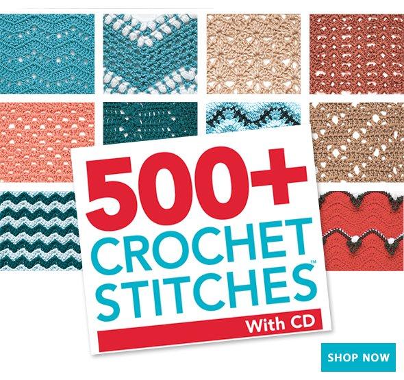 500+ Crochet Stitches