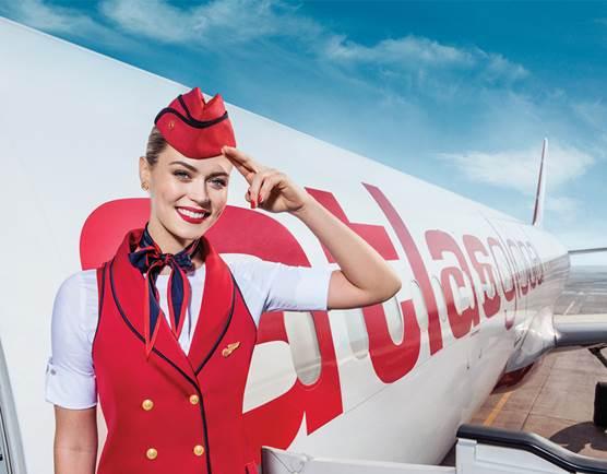 Купить билет со скидкой 20% на рейсы авиакомпании Atlasglobal