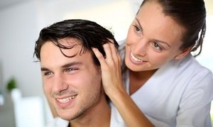 Up to 70% Off Hair Restoration at Solve Clinics