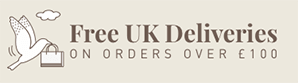 Free UK Deliveries On Orders Over £100