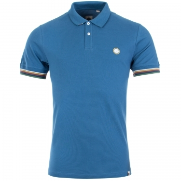 Eastman Tipped Sleeve Polo