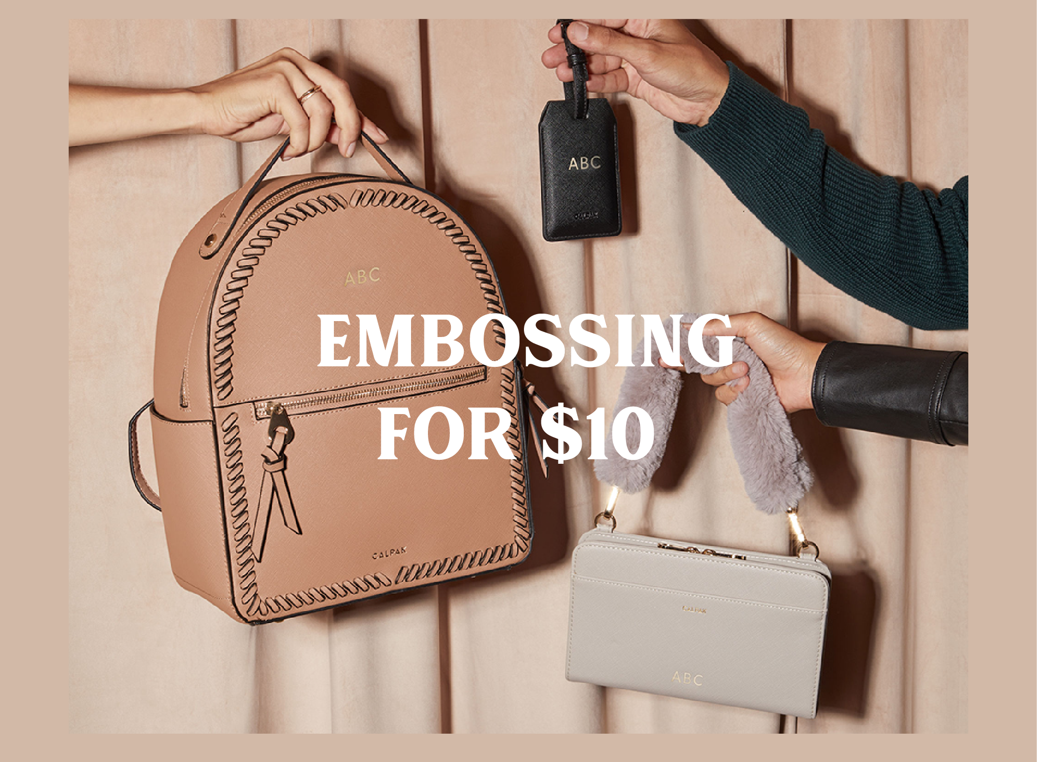 Embossing for $10