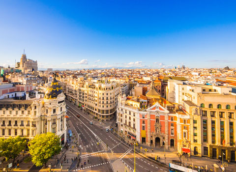 Vuelos a Madrid