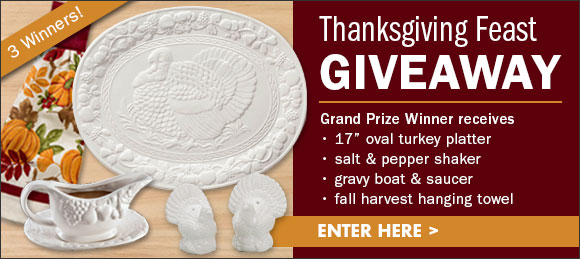 Thanksgiving Feast Giveaway...Enter Here