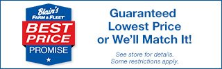 Guaranteed Lowest Price or We'll Match it!