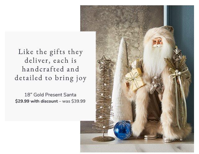 Shop Collectible Santas and Angels
