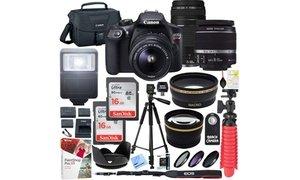 Canon EOS Rebel T6 18MP 1080p DSLR Camera Bundle