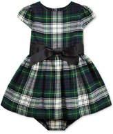 Baby Girls Tartan Plaid Dress & Bloomer