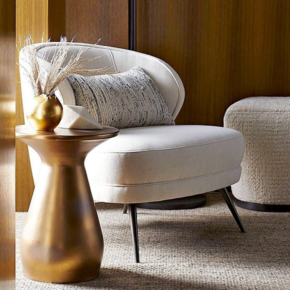 Haven Accent Table by Arteriors.