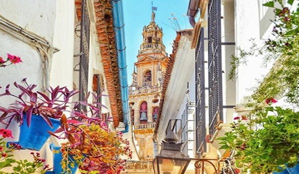 Street in Andalucia, Spain.