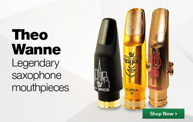 Theo Wanne - Legendary Saxophone Mouthpieces - Shop Now