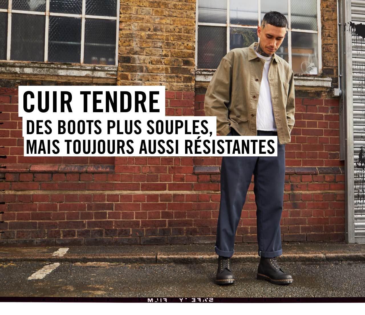 CUIR TENDRE: DES BOOTS PLUS SOUPLES, MAIS TOUJOURS AUSSI RÉSISTANTES