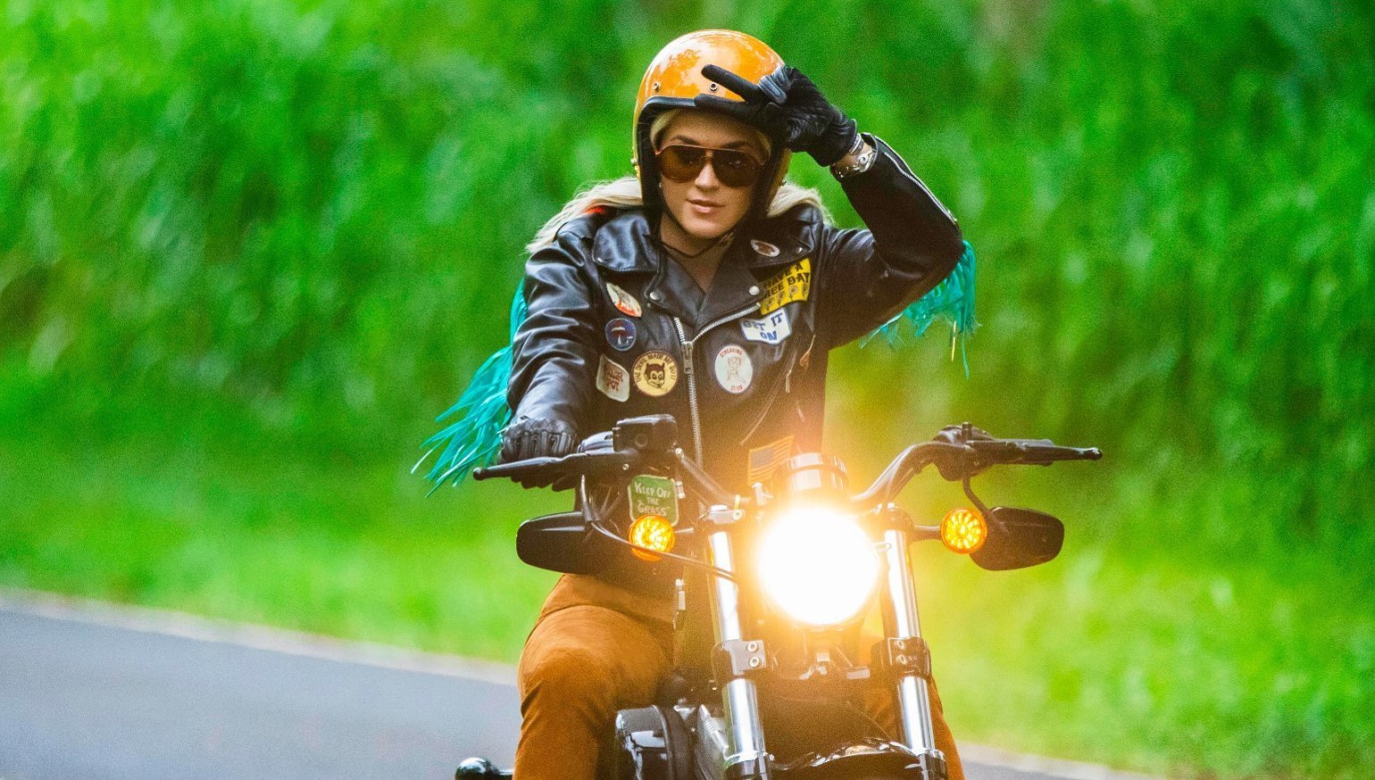 Katy Perry delivers Harley-Davidson's dream ad campaign, for free