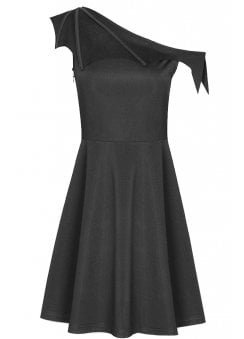 Bat Wing Gothic Dress