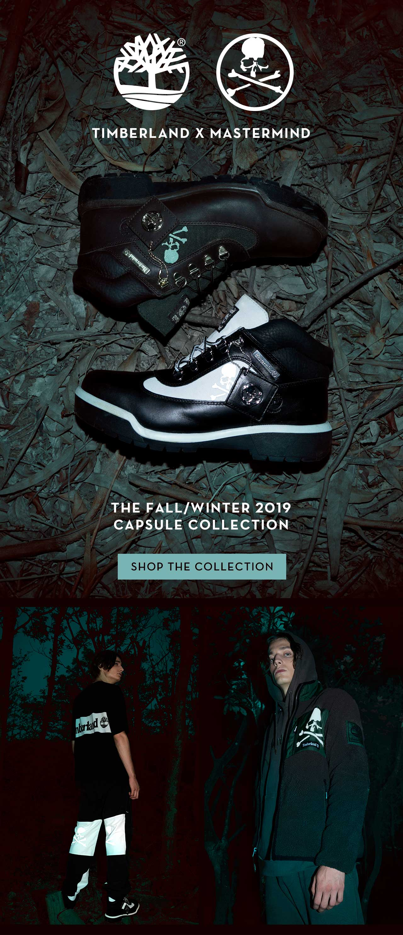 TIMBERLAND X MASTERMIND  THE FALL/WINTER 2019 CAPSULE COLLECTION SHOP THE COLLECTION
