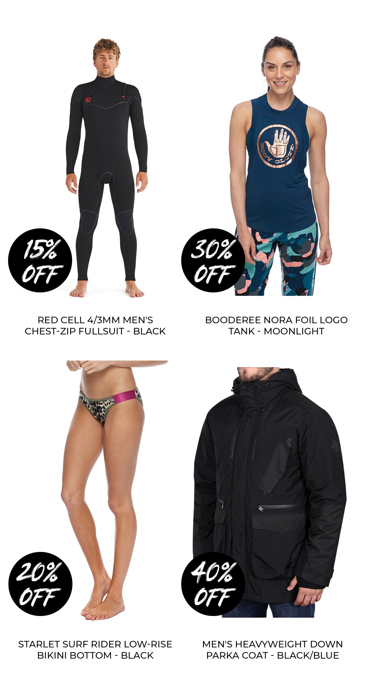 THIS WEEKEND ONLY 15-40% OFF SELECT ITEMS