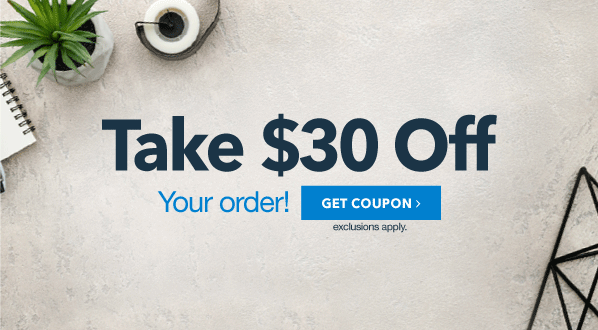 $30 Off Your Order Spend $250 or more