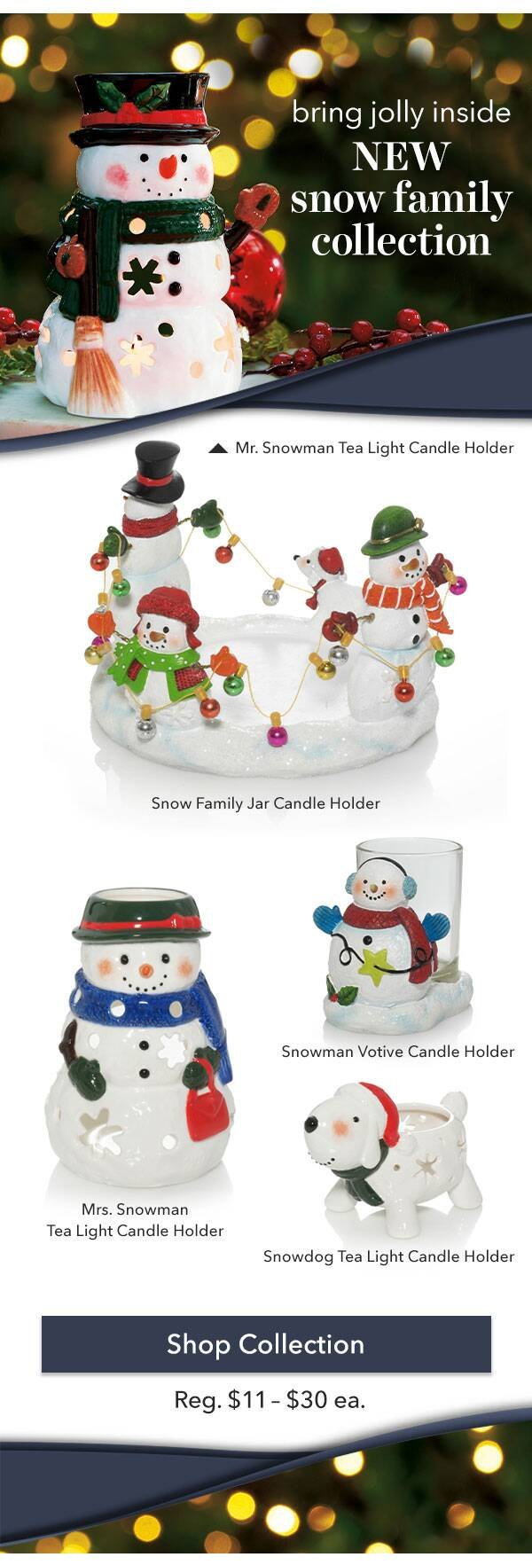 Snow Family Collection