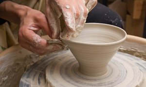 Up to 50% Off Pottery Wheel Class