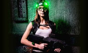Up to 45% Off Laser Tag