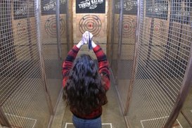 Up to 41% Off Guided Axe Throwing at Throw Nation
