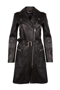 Belstaff Marvingt Leather Women's Jacket Black - New W19 Collection