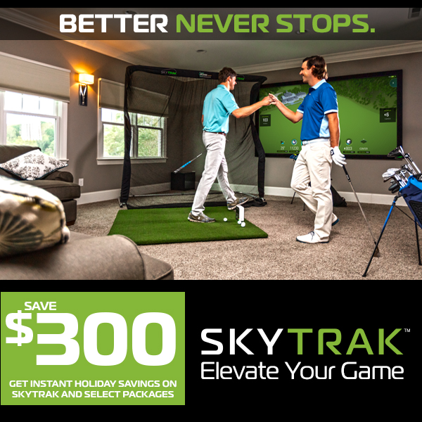 $300 Instant Savings On SkyTrak!