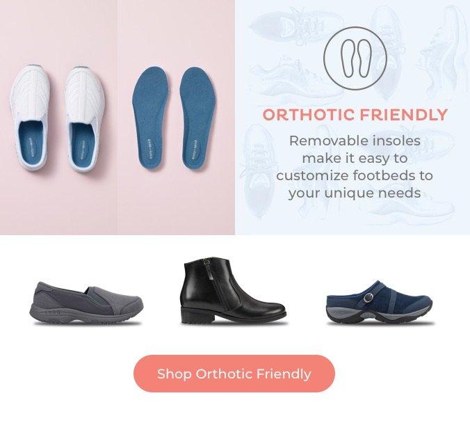 Shop Orthotic Friendly