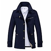 Men's Daily Fall & Winter Regular Jacket,...