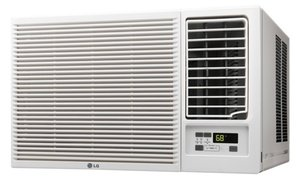 LG 8k-18k BTU Window Air Conditioners w/ Heating Option (Refurbished)