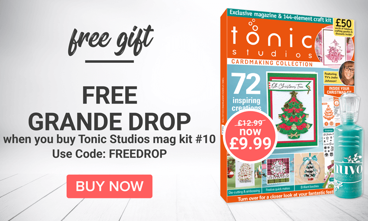 Choice of 2 free gifts with Tonic Mag Kit 10!