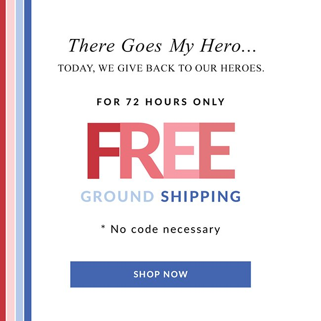 There Goes My Hero - Shop Now