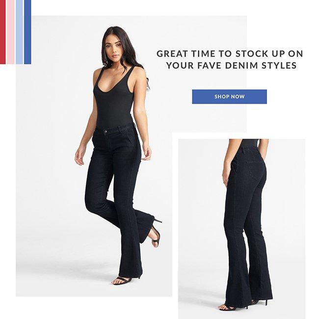 Your Fave Denim Styles - Shop Now
