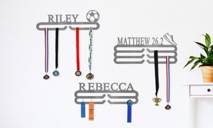 Personalized Medal or Tie Holder