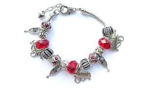 Wine-Themed Charm Bracelets