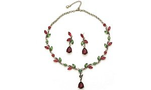 Holiday Necklace and Earring Set