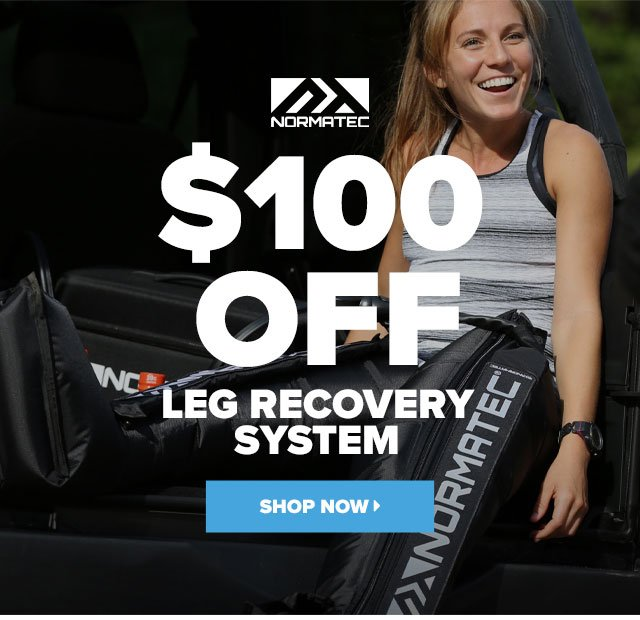$100 off Normatec Leg Recovery System