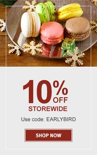 10% OFF STOREWIDE  USE CODE: EARLYBIRD   SHOP NOW!