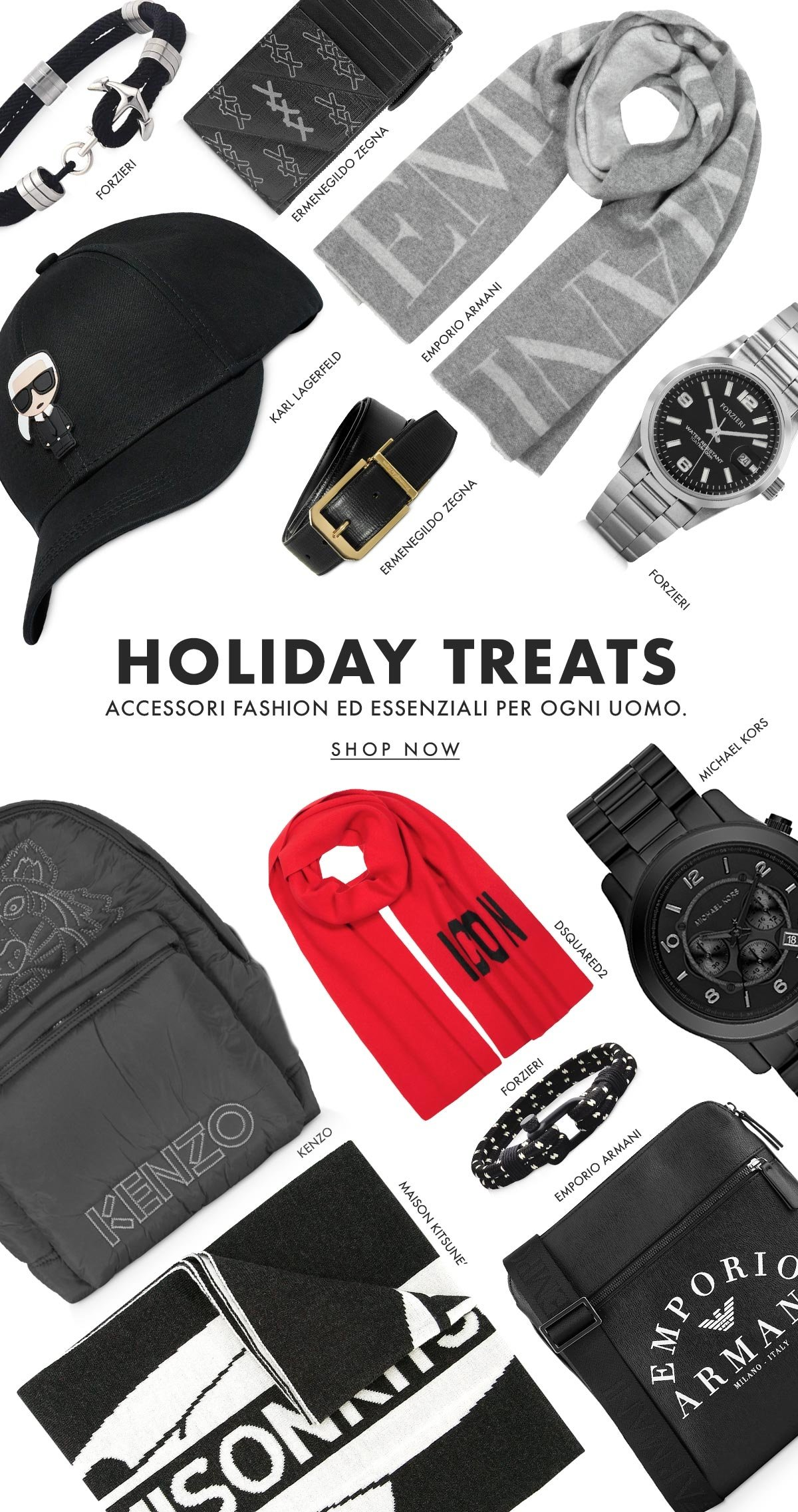 Holiday Treats - Fashionable essentials for every man