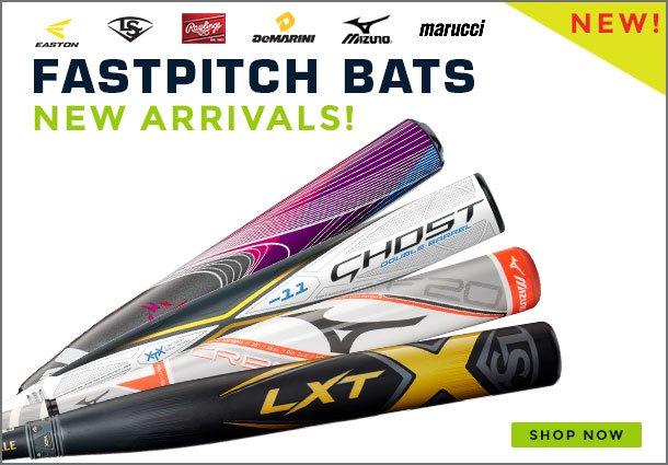 New FastPitch Bats
