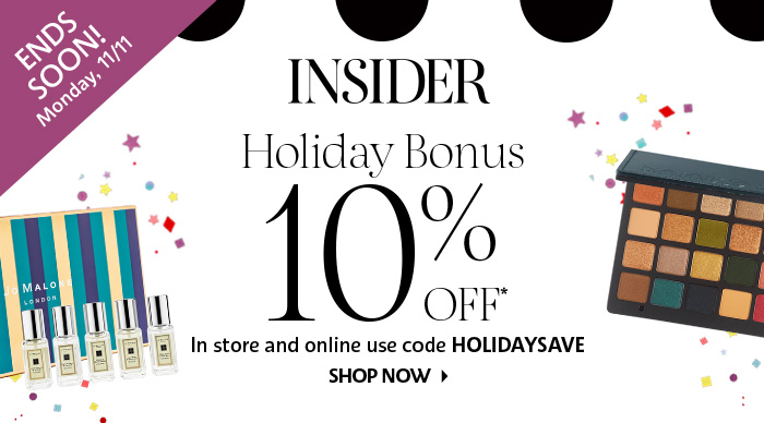 Insider Holiday Bonus