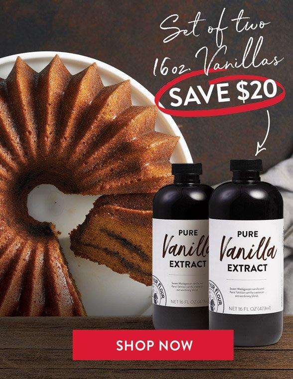 Save $20 on two vanillas