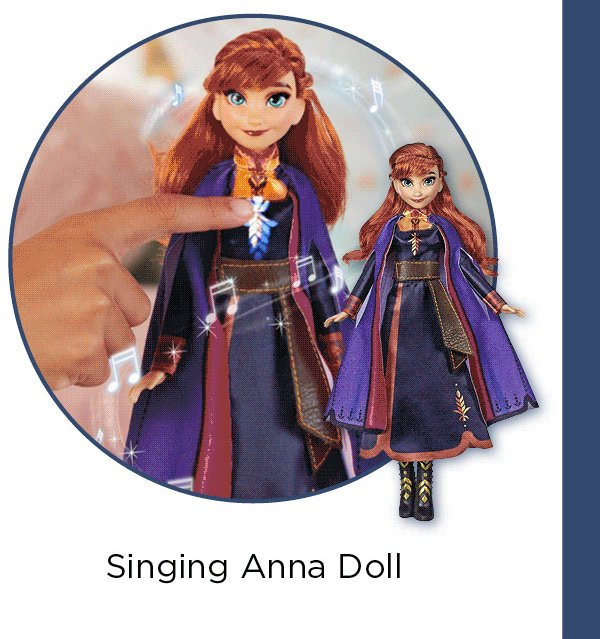 NEW TOYS - Singing Anna Doll