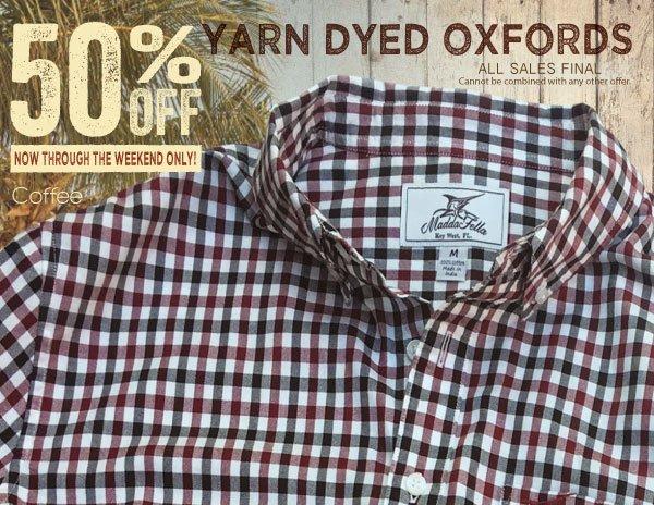 Yarn Dyed Oxford