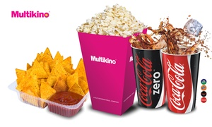 Multikino: nachos, popcorn, napój