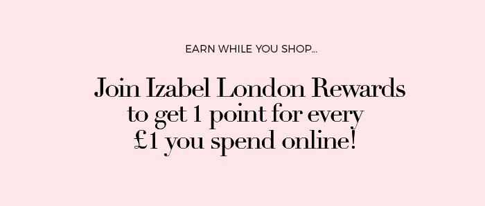 JOIN IZABEL LONDON REWARDS