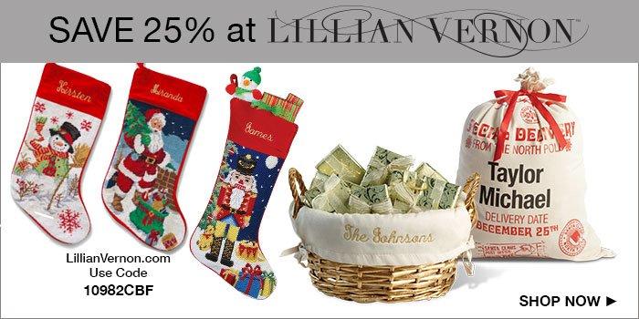 Shop Lillian Vernon