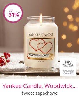 Yankee Candle, Woodwick, Millefiori - świece zapachowe